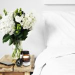 GOOD VIBE FACTORY soy candle with essential oils bedroom