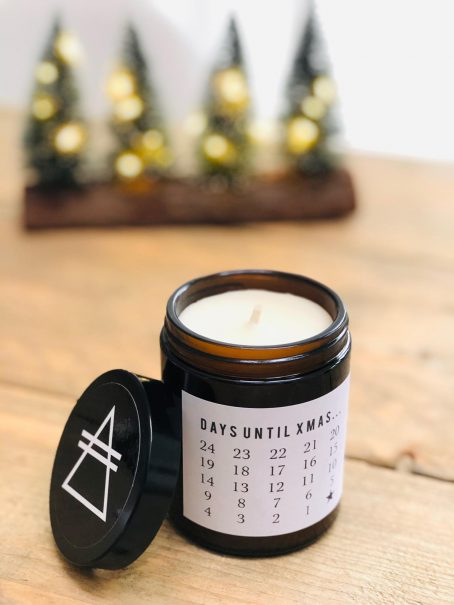 Christmas advent candle GOOD VIBE FACTORY kerstsfeer kerstboom