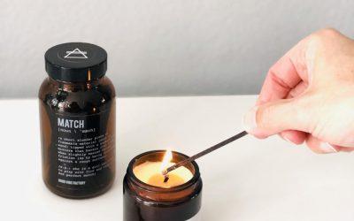 Alchemists Candle Match lightening Good Vibe Factory