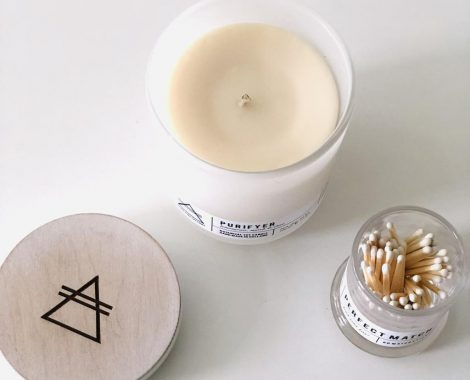 Alchemists Perfect Match candle Purifyer Good Vibe Factory