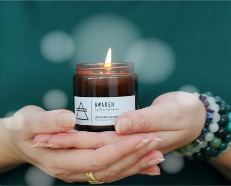 GOOD VIBE FACTORY aromatherapie kaars